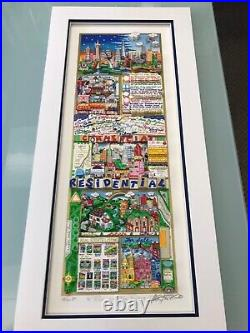 Charles Fazzino Rich on Real Estate 3-D Art Signed & Numbered Deluxe Edition
