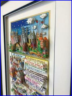Charles Fazzino Rich on Real Estate 3-D Art Signed & Numbered PR Edition