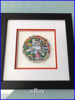 Charles Fazzino Rockin Around The USA 3-D Art Signed & Number Framed