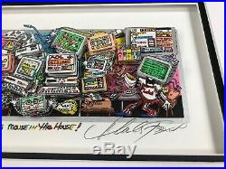 Charles Fazzino There's A Mouse in the House 3-D Art Signed & Number Deluxe
