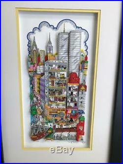 Charles Fazzino You Can Bank On It, New York 3-D Artwork Signed & Numbered DX
