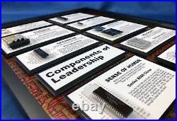 ChipScapes Components of Leadership Intel, 4004, IBM, SYS/360, Pong, Gift, Award