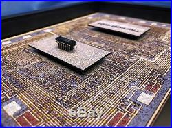 ChipScapes Intel 4004, The World's First Microprocessor P4004, Computer Art