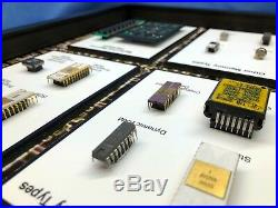 ChipScapes Types of Solid State Memory Chips RAM, ROM, Bubble, CCD, Intel, 1702