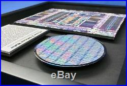 ChipScapes nCube 2 Silicon Wafer Supercomputer, Parallel, Hypercube, Artwork