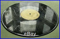 Conceptual Art 1989 Christian Marclay Footsteps vinyl LP, 350 copies, Fluxus