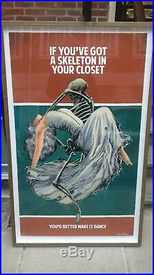 Connor Brothers Mixed Media HPM Skeleton in your Closet Banksy signed