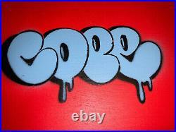 Cope2 Detroit Stencil Series 19 Original Mixed Media Art Graffiti Tag 2013