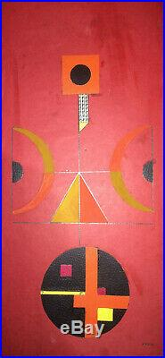Cuba Fine Art SANDU DARIE Original Signed & Dedicated Mixed Media Collage