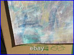 Cy Twombly Authentic Painting
