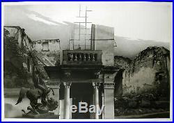 DDR-Kunst 1984 Grosse Mischtechnik Dieter BOCK VON LENNEP (1946 D) handsigniert