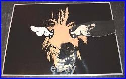 DFace-Original-1/1-Mixed-Media-A-Hole-Dead-Banksy, Invader, Kaws, Fairey sticker