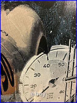 Devin Miles No Limits Mixed Media auf Aluminium 70 x 70cm