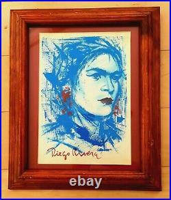 Diego Rivera -frida Kahlo- Portrait Painting