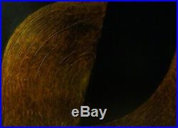 Edgar Hofschen Komposition in erdigen Farben, signiert, datiert 1991