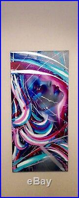 Emma Grzonkowski Original Oil Mixed Media Boxed Canvas