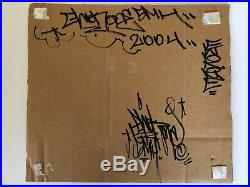 Ewok 5MH Ewokone Totem Original Mixed Media Work Graffiti 2004