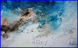 FeNatArt ACRYLBILD Gemälde KUNST 200x100cm GROSSE Leinwand XXL Malerei ABSTRAKT