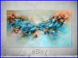 FeNatArt ACRYL Bild Gemälde KUNST 140x80cm Leinwand XXLMalerei NEU Struktur ART