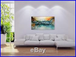 FeNatArt ACRYL Bild Gemälde KUNST 140x80cm Leinwand XXL Malerei NEU 3D Struktur