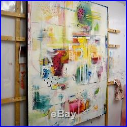 FeNatArt Bild ORIGINAL Kunst GEMÄLDE modern MALEREI abstrakt XXL ACRYL Leinwand