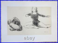Federico Castellon surrealist artist dancers painting Spanish artist SPAIN
