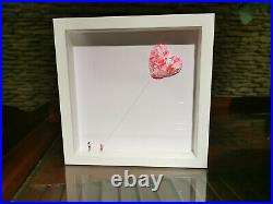 Girl with Balloon like Banksy Roys People Unique box set hand made 1/1 number