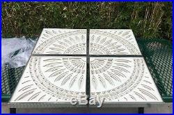 Greg Copeland 1970's Geometric Three Dimensional Paper Art Work Signed ORIGINAL