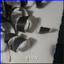 Greg Copeland Hand Signed Original Modern 91 Mixed Media Art in Shadow Box