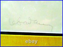 HOI LEBADANG Hand Signed ORIGINAL LITHO PRINT WithEMBOSSING Limited Edition 90/120
