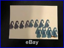 Handmade 5x7 Action Bronson Artwork signed autograph Edition Of 100 Sold Out