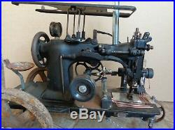 Handmade Steampunk Sewing Machine Steam Engine Locomotive Tractor Sculpture