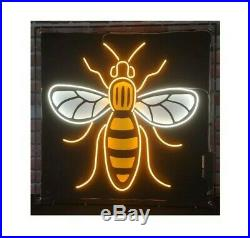 Iconic Manchester Worker Bee Neon Light/Interior Design/Home Decor/Wall Sign