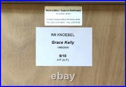 Imi Knoebel Grace Kelly, Acryl auf Papier(collagiert), signiert und nummeriert