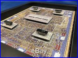 Intel 4004 Microprocessor 4001 ROM, 4002 RAM, 4003 I/O Chipset (P4004) 8x10