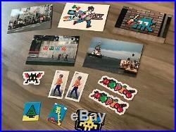 Invader Invasion Kit 18 IK18 Kit Sealed Sticker and Postcards not Banksy