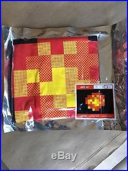 Invader, Space Invader, Explosion T-Shirt Blk-Large -Rare Hong Kong Show 2015