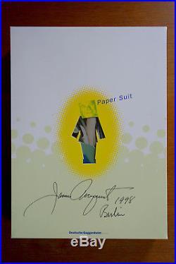 JAMES ROSENQUIST, Papersuit (Hugo Boss), 1998, Aufl. 100 Ex