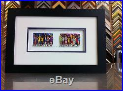 James Rizzi 3-D Love For Sale Signed & Numbered 1990 Framed MARCH SALE