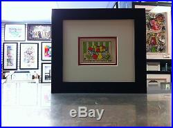 James Rizzi 3-D Tutti Frutti Signed & Numbered 2002 Mini Framed