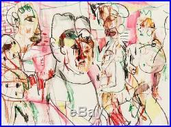 Jim Bloom, Original Mixed Media Artwork