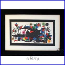 Joan Miro Denmark Lithograph On Paper