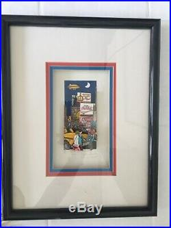John Suchy Modern 3D Construction Heart Of Broadway NYC Limited Ed Mixed Media