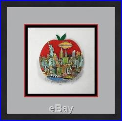 John Suchy The Big Apple NYC L/ED Signed 3D POP ART Custom Framed FREE SHIP