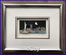 John Suchy The Lady of the Harbor & the Downtown Skyline NYC, 1997, 3D