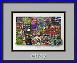 John Suchy The Stars Come Out Times Square L/ED Signed 3D POP ART Custom Framed