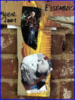 Jonathan Meese // Kreuz // Unikat // Collage // signiert