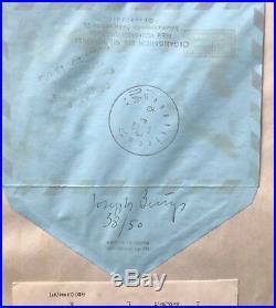 Joseph Beuys, Luftpost, Handsigniert, Exemplar 38/50