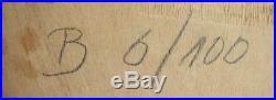 Joseph Beuys, Phosphor-Kreuzschlitten 1972/77, signiert, numm. 6/100