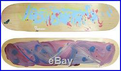 Josh Smith Original Mixed Media Painting on Skateboard deck